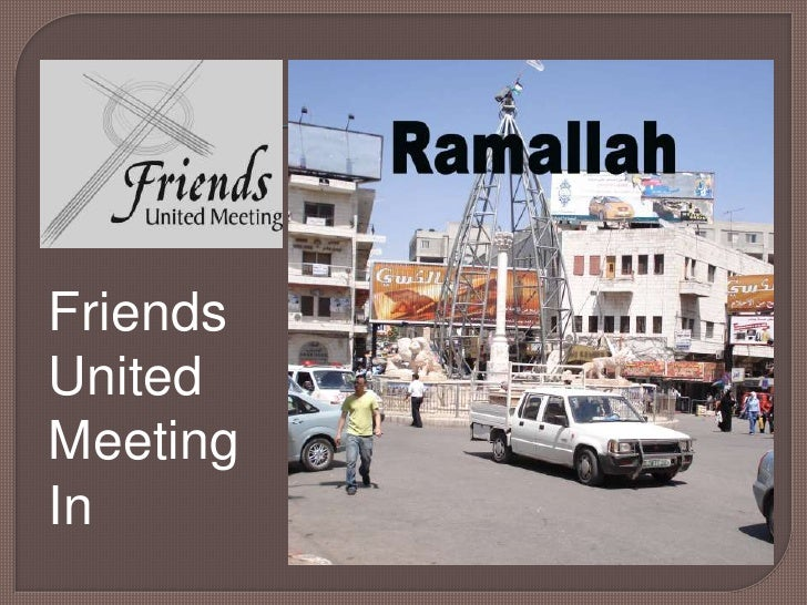 Friends<br />United <br />Meeting <br />In<br />