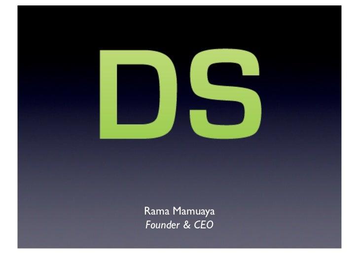 Rama mamuaya tech change-the-world