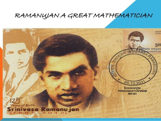 short essay on srinivasa ramanujan Srinivasa ramanujan essays: over 180,000 srinivasa ramanujan essays, srinivasa ramanujan term papers, srinivasa ramanujan research paper, book reports 184 990 essays, term and research papers available for unlimited access.