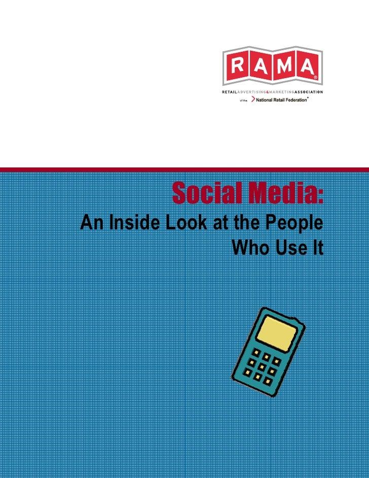 R A M A  Social Media 2010