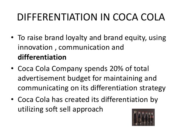 Difference between diversification and differentiation strategy