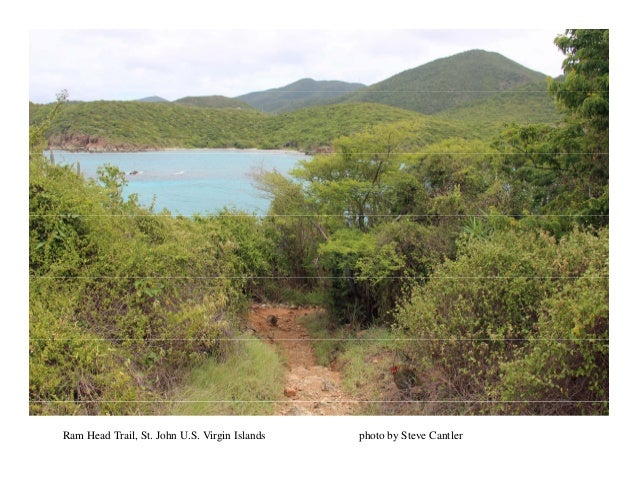 Ram Head Trail, St. John U.S. Virgin Islands photo by Steve Cantler
