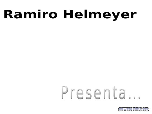 Ramiro Helmeyer