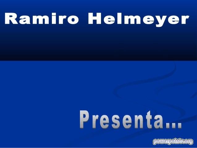 Ramiro helmeyer impresora malograda 4434