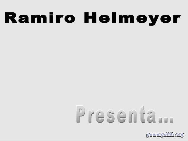 Ramiro helmeyer ju manos libres 4557