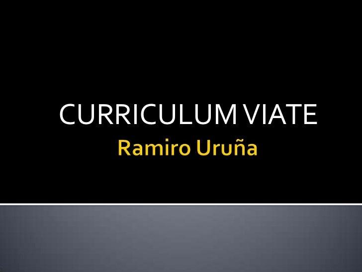 Ramiro uruña
