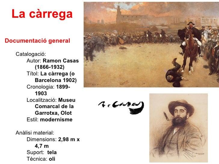 La càrrega  Documentació general     Catalogació:        Autor: Ramon Casas            (1866-1932)        Títol: La càrreg...