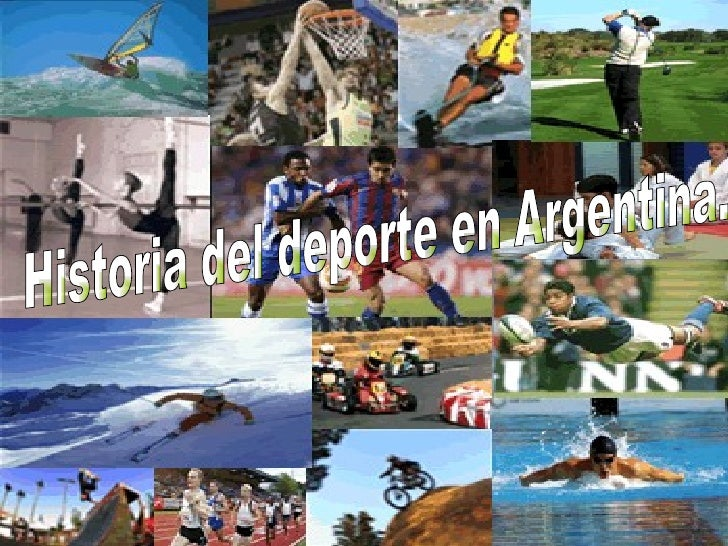 Historia del deporte en Argentina.