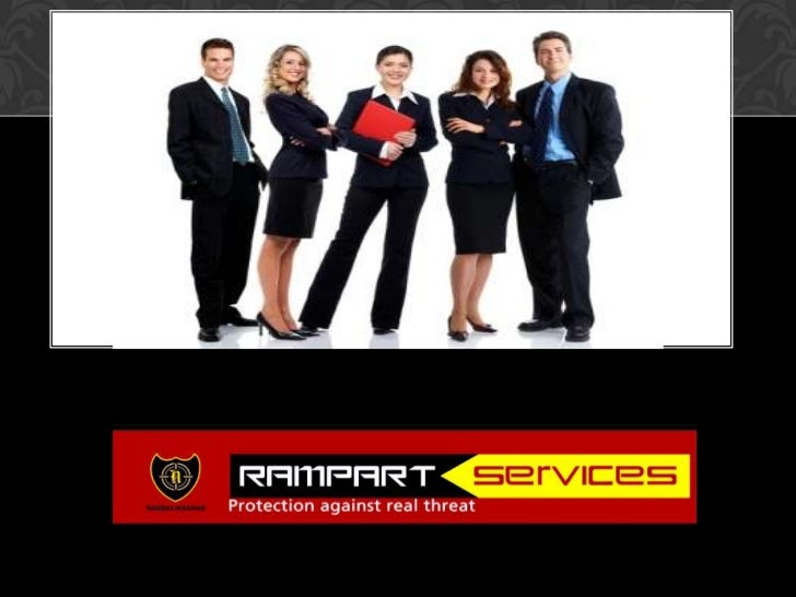 Rampart services corporate ppt