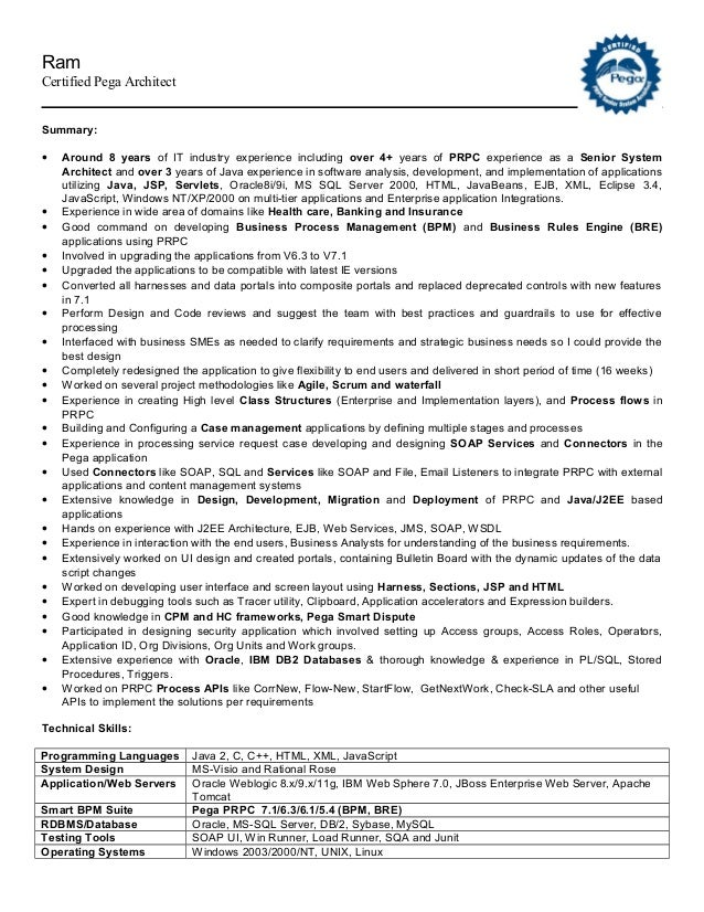 Guidewire Business Analyst Resume Image Collections Resume Format