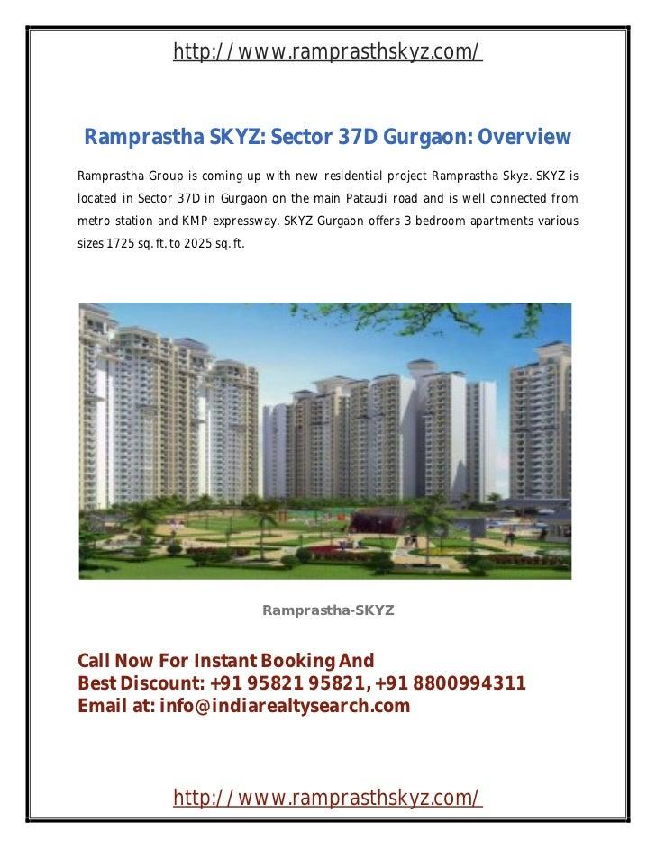 Ramprastha city gurgaon