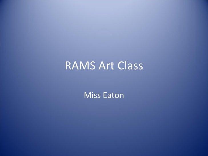 Rams Art Class