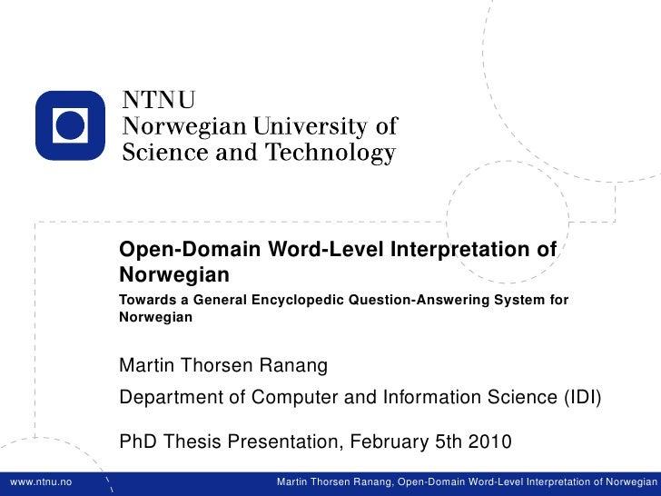 dissertation defense powerpoint presentation