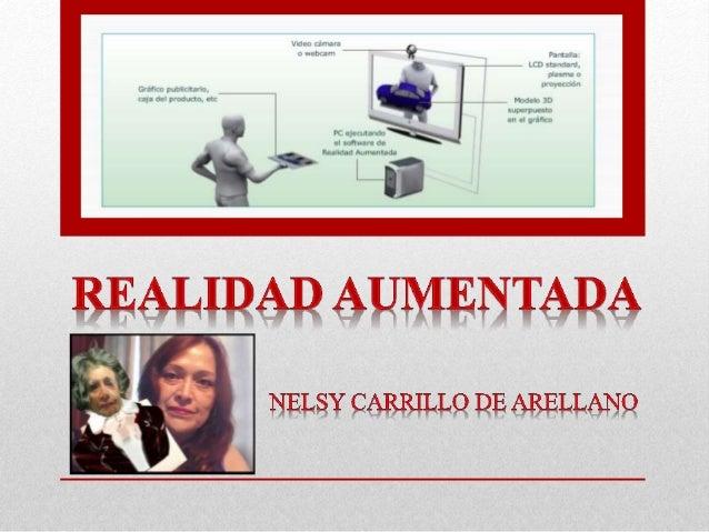 Realidad Aumentada by Nelsy Carrillo