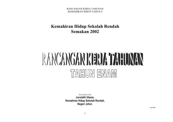 Rancangan Kh Th 6