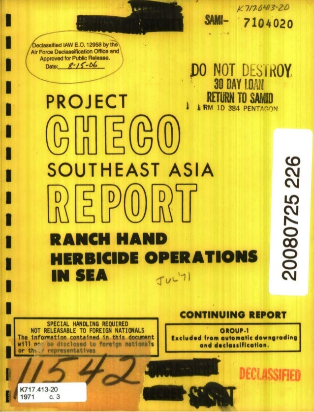 S7104020 PO NOT DESIROY 30 DAY [LW PROJ ECT WN TO,,SAD,p II ~ RM 1D384 PENTr-om I SOUTHEAST ASIA cj D D D LO RANCH HAND c ...