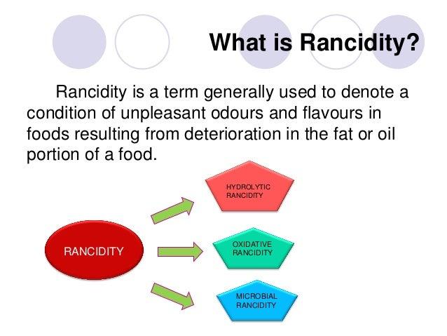 rancidity - définition