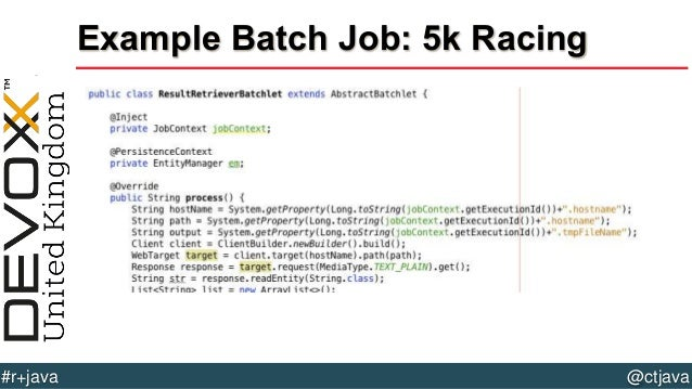 Batch Job 5k Racing 53  R Batch Jobs