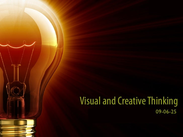 Visual and Creative Thinking   What we learned from Peter Pan and Willy Wonka                                      09-06-2...