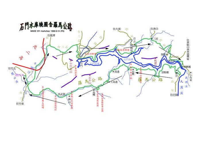往大溪    台            往湊合                 MADE BY markchoo 1999.9.13 (P6)            台                                往龍潭   ...