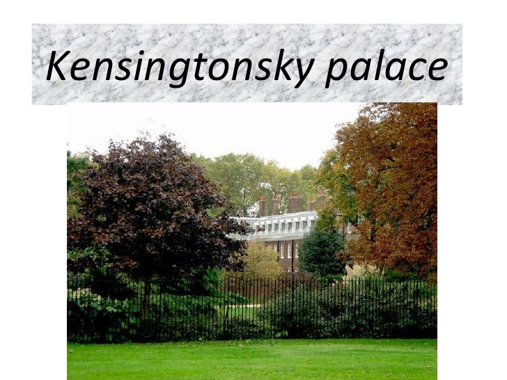 Kensingtonsky palace