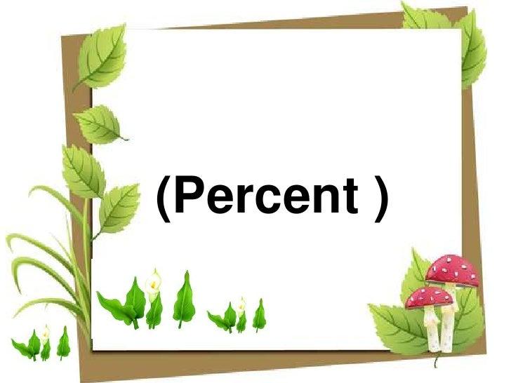 ร้อยละ <br />(Percent )<br />