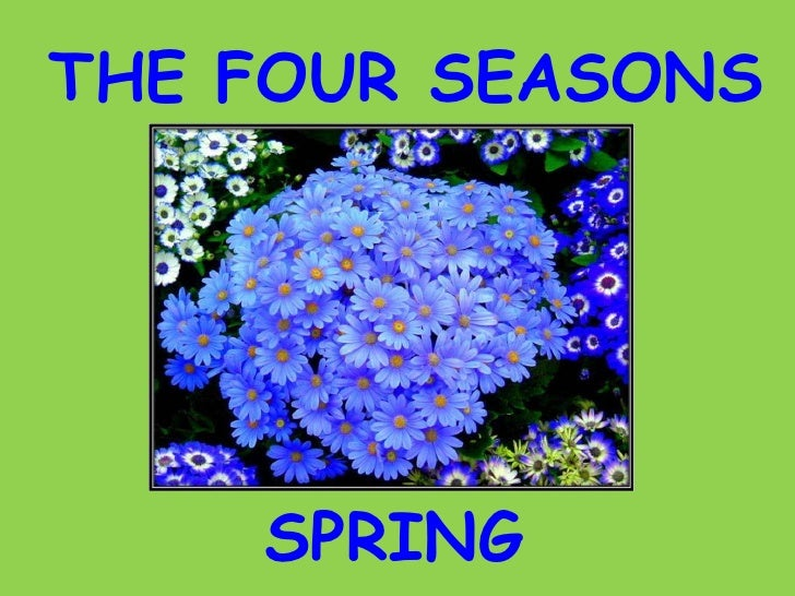 THE FOUR SEASONS SPRING