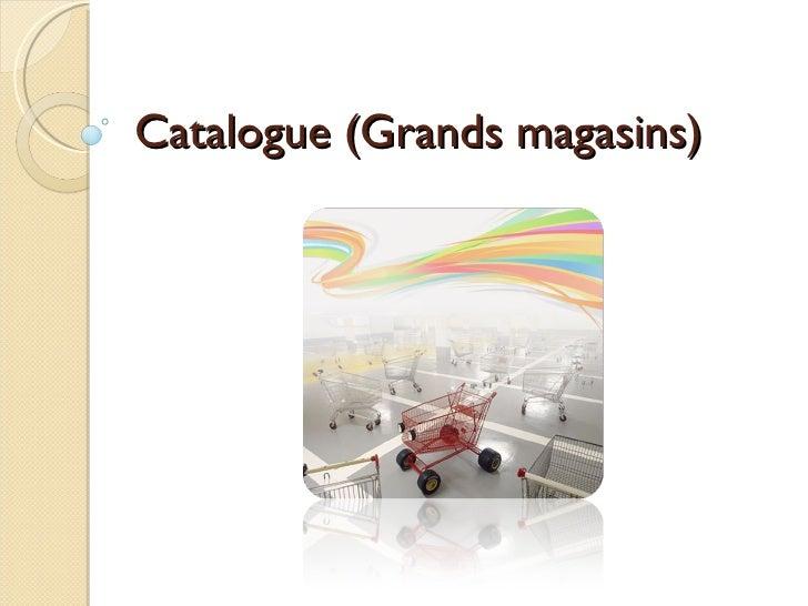 Catalogue (Grands magasins)