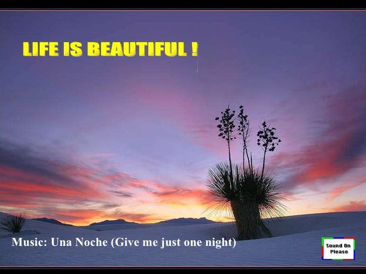 生命是美麗的