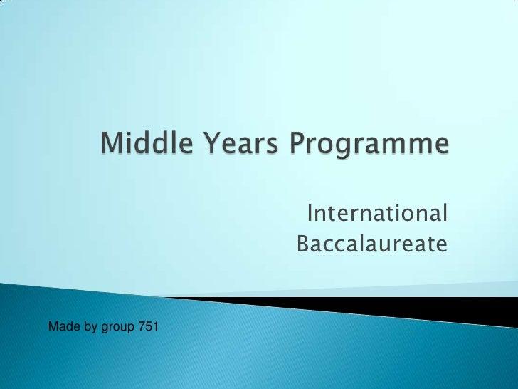 MYP of IB