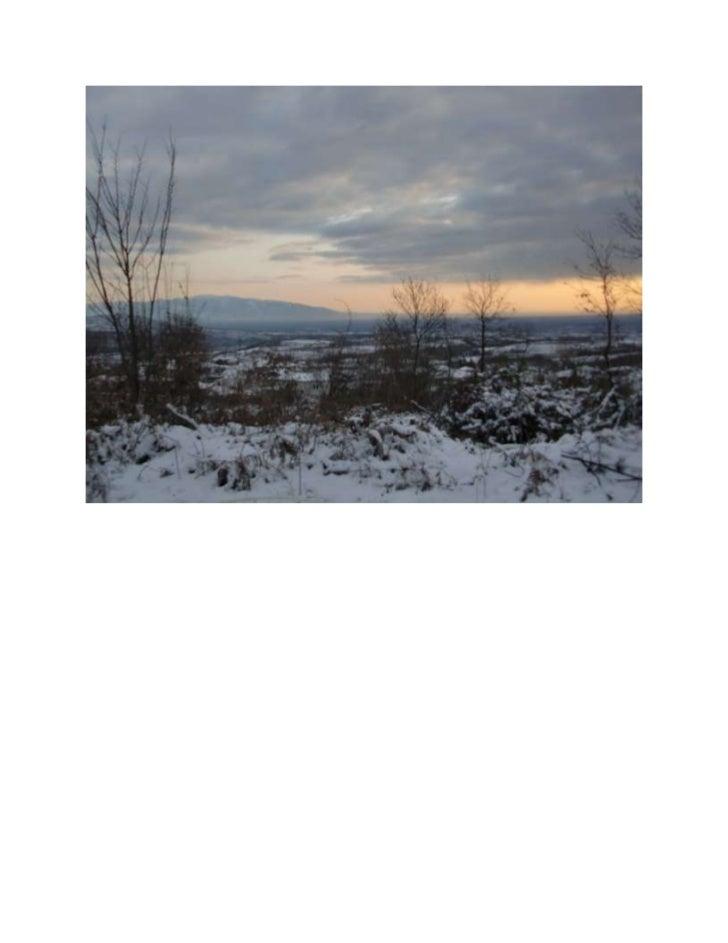 χιονισμένη διαδρομή απο νάουσα γιαννακοχώρι