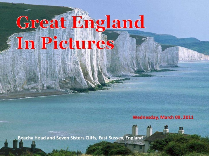Wednesday, March 09, 2011Beachy Head and Seven Sisters Cliffs, East Sussex, England