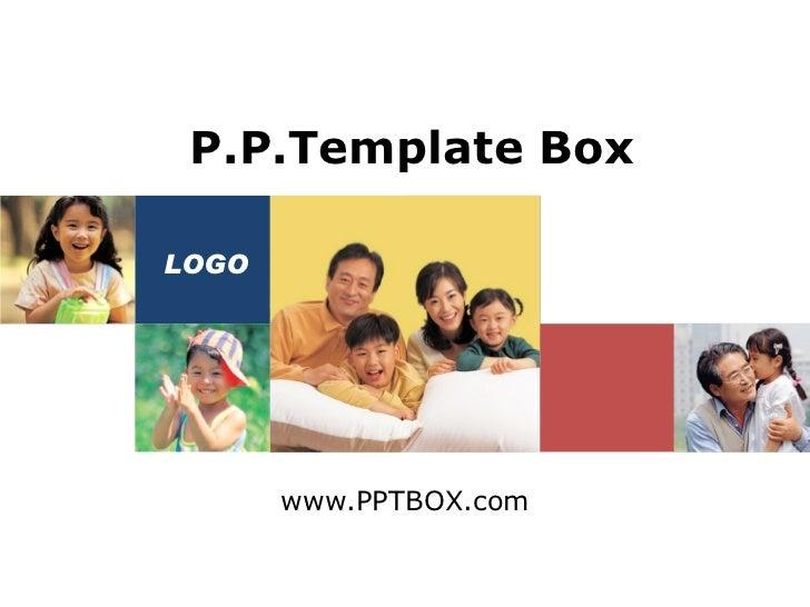 www.PPTBOX.com P.P.Template Box LOGO