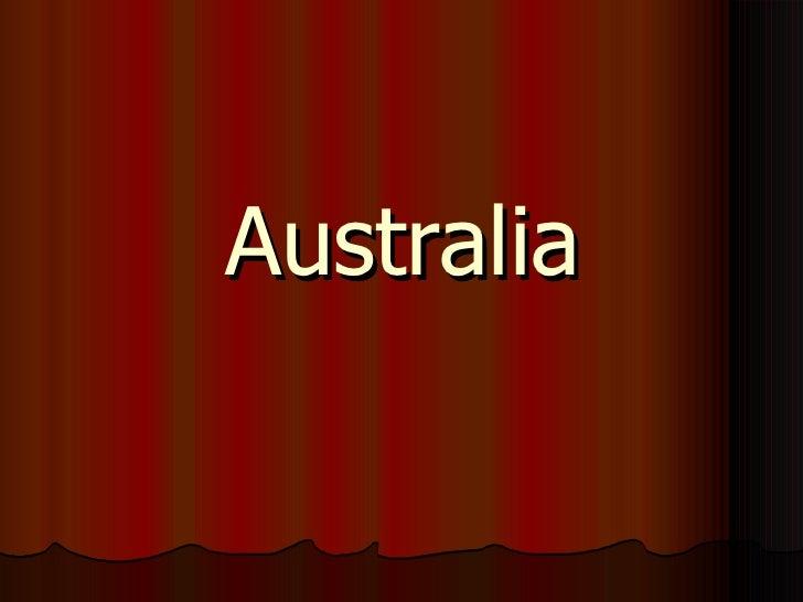 моя австралия