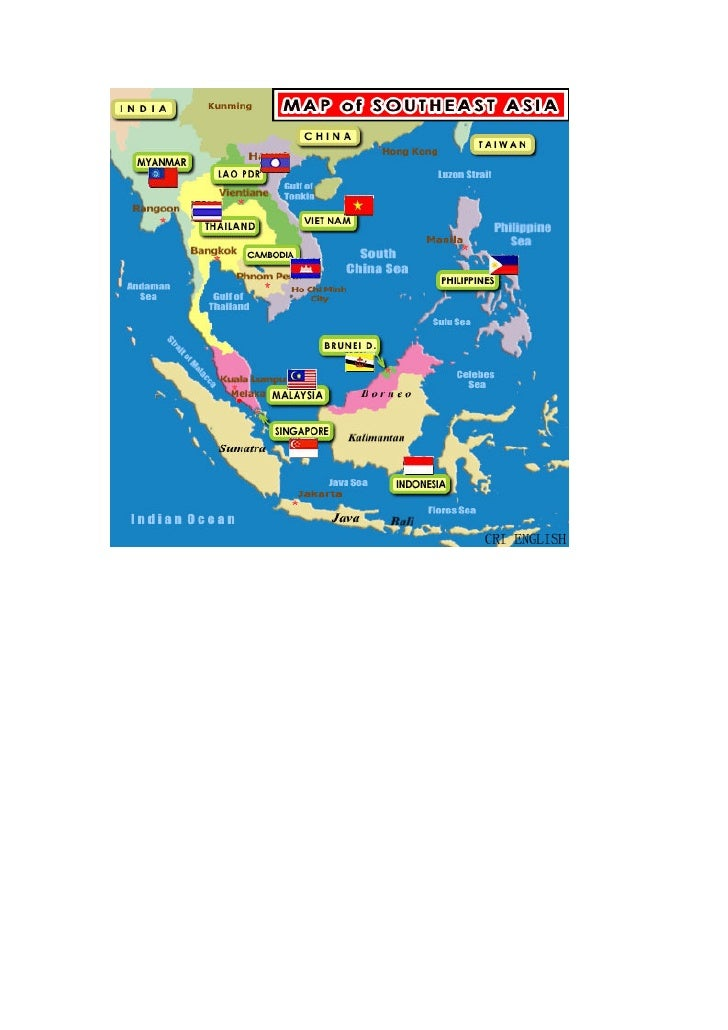 แผนที่อาเซียน