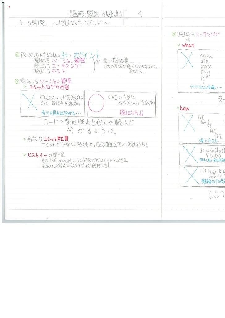みゆっきノート#10「チーム開発 ~ 脱ぼっちマインド ~」