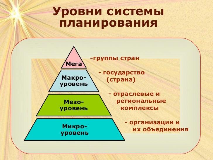 выбором альтернативного сценария их развития (на макро-, мезо- и микроуровне) и определяются дифференцирующими