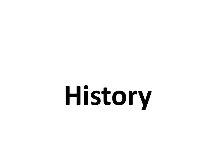 ประวัติศาสตร์