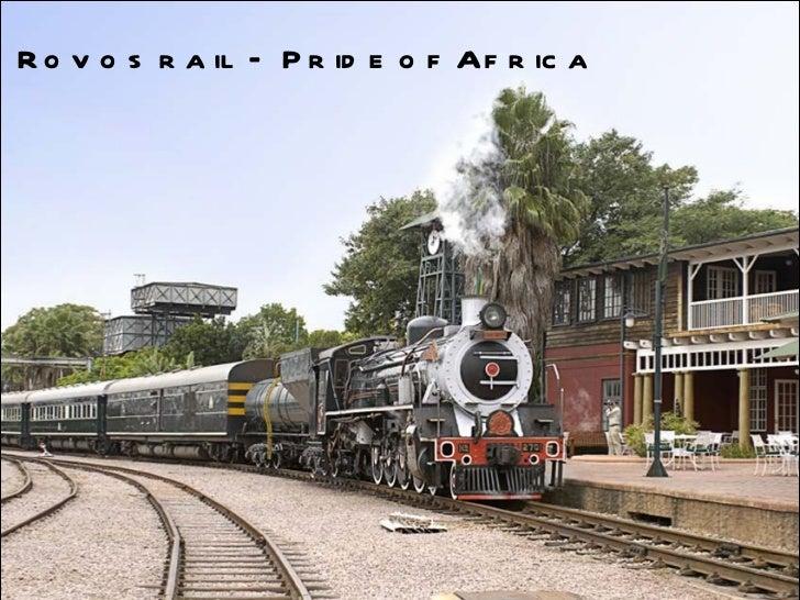 南非火車之旅