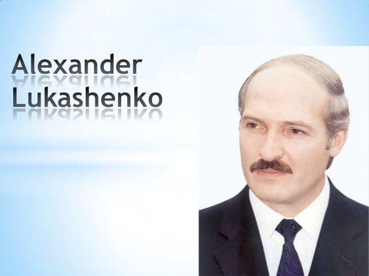 Alexander Lukashenko has been serving asthe President of Belarus since 20 July1994. The president of National Olympiccommi...