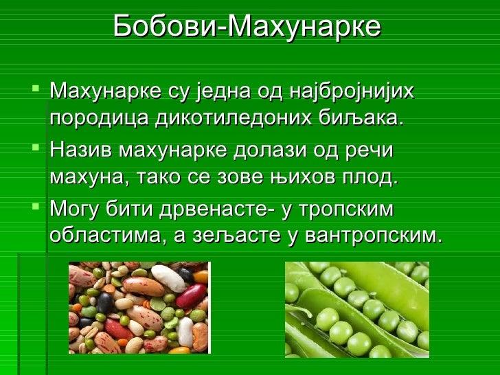 бобови махунарке