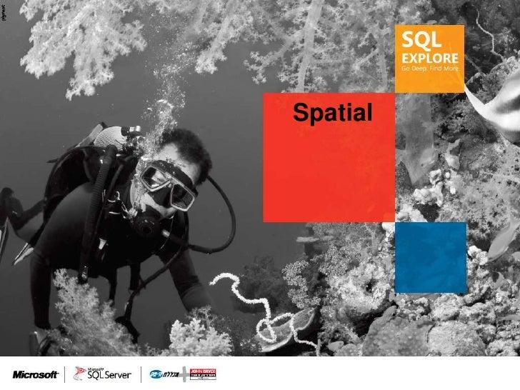 SQL Explore 2012 - Aviad Deri: Spatial