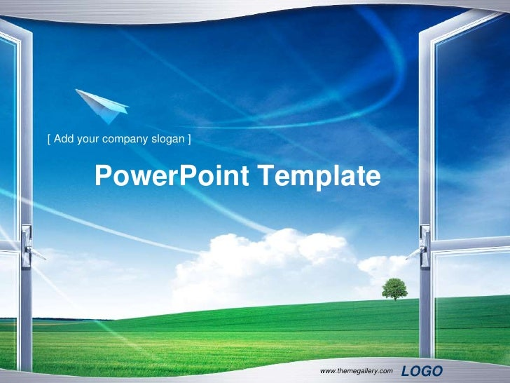 [ Add your company slogan ]        PowerPoint Template                              www.themegallery.com   LOGO