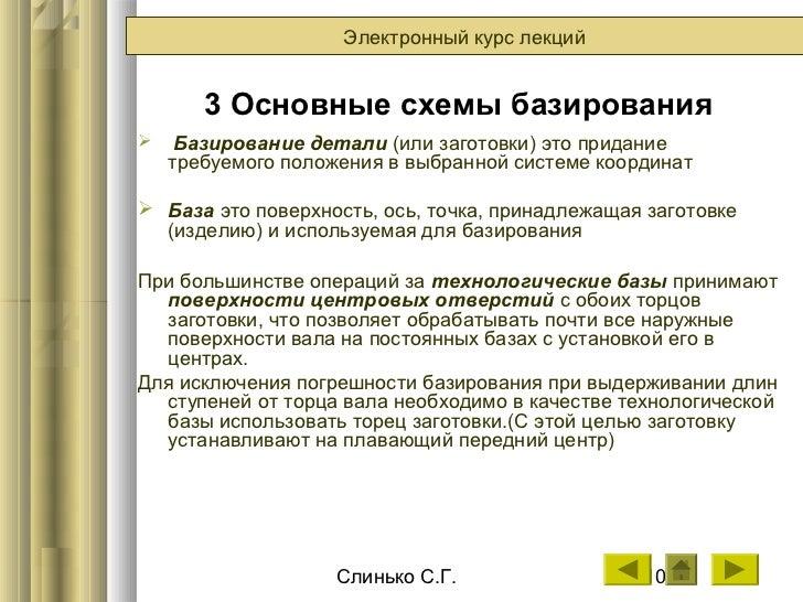 лекций 3 Основные схемы