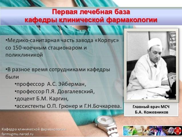 клинической фармакологии