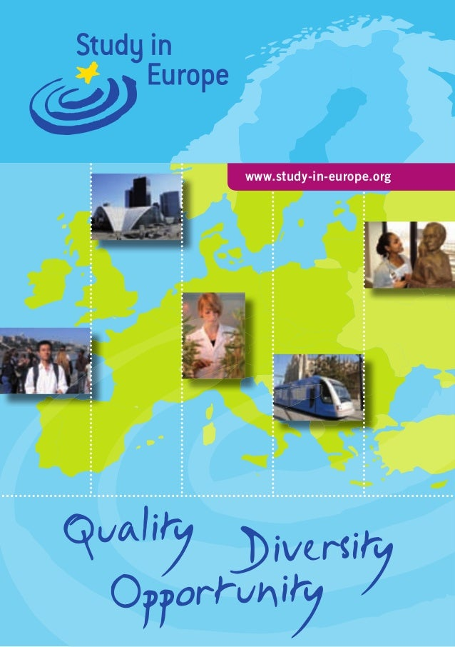 www.study-in-europe.orgQuality Diversity  Opportunity