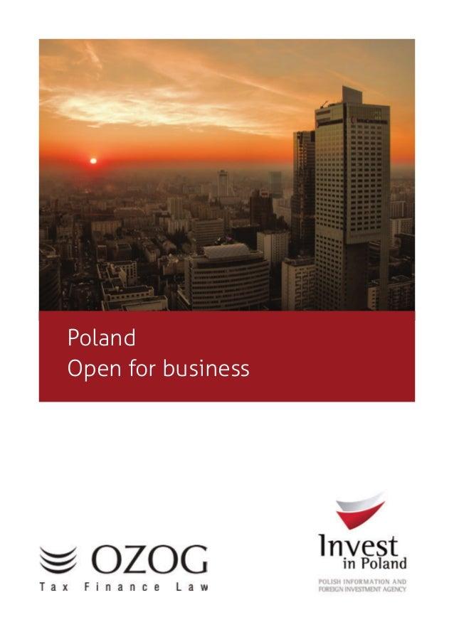 PolandOpen for business