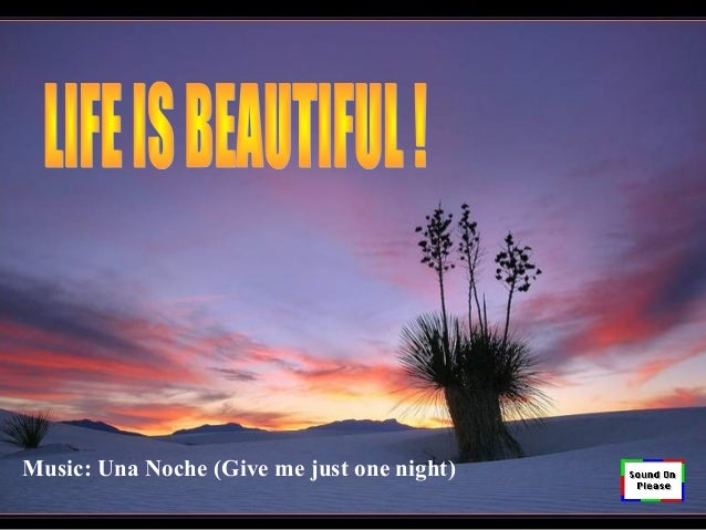 Music: Una Noche (Give me just one night)