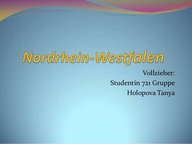 Vollzieher:Studentin 721 Gruppe     Holopova Tanya