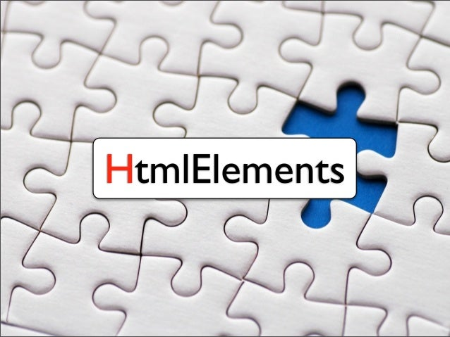 HtmlElements